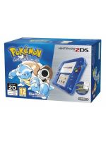 príslušenstvo pre Nintendo 3DS Konzola Nintendo 2DS (Transparent Blue) + Pokémon Blue
