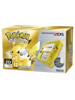 príslušenstvo pre Nintendo 3DS Konzola Nintendo 2DS (Transparent Yellow) + Pokémon Yellow