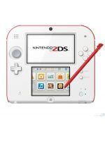 príslušenstvo pre Nintendo 3DS Konzola Nintendo 2DS (bielo-červená) + Yo-Kai Watch