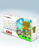 príslušenstvo pre Nintendo 3DS Konzola Nintendo 3DS XL (biela bodkovaná) + Animal Crossing: New Leaf