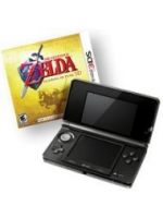 pr�slu�enstvo pre Nintendo 3DS Konzola Nintendo 3DS (�ierna) + Zelda: Ocarina of Time