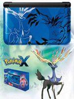 príslušenstvo pre Nintendo 3DS Konzola Nintendo 3DS XL (Pokémon X - modrá)