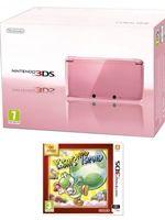 príslušenstvo pre Nintendo 3DS Konzola Nintendo 3DS (ružová) + Yoshis New Island