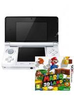 príslušenstvo pre Nintendo 3DS Konzola Nintendo 3DS (biela) + Super Mario 3D Land