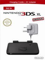 príslušenstvo pre Nintendo 3DS Dobíjacia stanica + adaptér pre 3DS XL