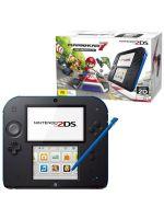 příslušenství pro Nintendo 3DS Konzole Nintendo 2DS Black & Blue + Mario Kart 7