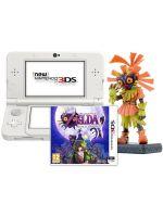 príslušenstvo pre Nintendo 3DS Konzola New Nintendo 3DS (biela) + Zelda + figúrka