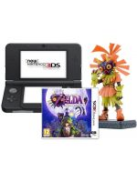 príslušenstvo pre Nintendo 3DS Konzola New Nintendo 3DS (čierna) + Zelda + figúrka