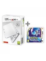 príslušenstvo pre Nintendo 3DS Konzola New Nintendo 3DS XL (biela) + Pokémon Moon