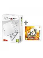příslušenství pro Nintendo 3DS Konzole New Nintendo 3DS XL (bílá) + Pokémon Sun