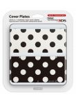 Kryt pro New Nintendo 3DS (Black and White Dots)