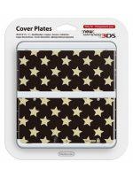 príslušenstvo pre Nintendo 3DS Kryt pre New Nintendo 3DS (Gold Stars)