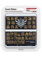 príslušenstvo pre Nintendo 3DS Kryt pre New Nintendo 3DS Monster Hunter 4 (Black)
