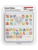 pr�slu�enstvo pre Nintendo 3DS Kryt pre New Nintendo 3DS Monster Hunter 4 (White)