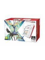 příslušenství pro Nintendo 3DS konzole Nintendo 2DS (bílo-červená) + Pokemon X