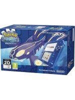 príslušenstvo pre Nintendo 3DS Konzola Nintendo 2DS (transparent-modrá) + Pokémon Alpha Sapphire