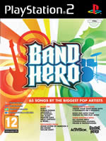 Hra pre Playstation 2 Band hero + n�stroje