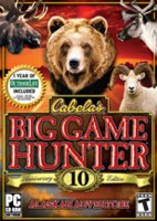 Hra pre PC Cabelas Big Game Hunter 10th Anniversary