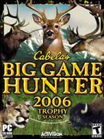 Hra pre PC Big Game Hunter 2006