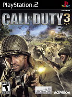 Hra pre Playstation 2 Call of Duty 3 dupl