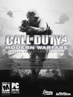 Hra pre PC Call of Duty 4: Modern Warfare (collectors edition) + CZ