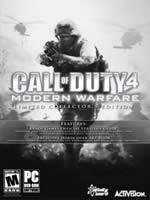 Hra pre PC Call of Duty 4: Modern Warfare (collectors edition) + CZ
