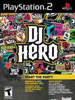 Hra pre Playstation 2 DJ Hero + gramofón