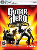 Hra pre PC Guitar Hero 4: World Tour + gitara