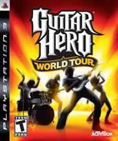 Hra pre Playstation 3 Guitar Hero 4: World Tour + gitara