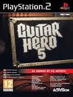 Hra pre Playstation 2 Guitar Hero 5 + gitara