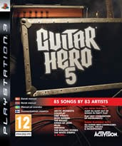 Hra pre Playstation 3 Guitar Hero 5 + gitara