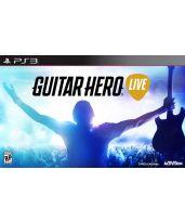 Hra pre Playstation 3 Guitar Hero Live + gitara