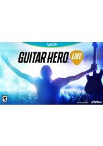 Hra pre Nintendo WiiU Guitar Hero Live + gitara