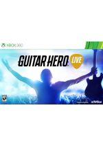 Hra pre Xbox 360 Guitar Hero Live + gitara