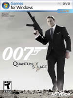 Hra pre PC James Bond: Quantum of Solace
