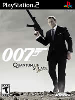Hra pre Playstation 2 James Bond: Quantum of Solace