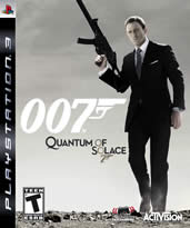 Hra pro Playstation 3 James Bond: Quantum of Solace