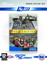 Hra pre PC Medieval Total War Gold