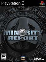 Hra pre Playstation 2 Minority Report