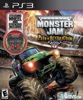 Hra pre Playstation 3 Monster Jam: Path of Destruction (+ volant)