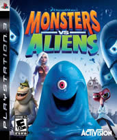 Hra pre Playstation 3 Monsters vs. Aliens