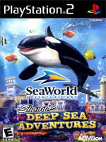 Hra pre Playstation 2 Sea World: Shamus Deep Sea Adventure
