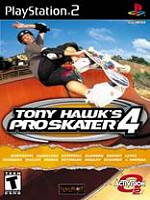 Hra pre Playstation 2 Tony Hawks Pro Skater 4