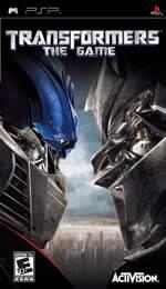 Hra pre PSP Transformers: The Game