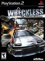 Hra pre Playstation 2 Wreckless