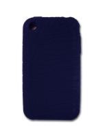 Príslušenstvo k Mobilným telefónom Silikónové puzdro pre iPhone (modré)