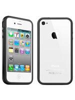 Príslušenstvo k Mobilným telefónom Ochranný kryt Bumper pre iPhone 4 (čierny)