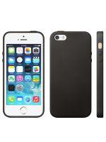 Puzdro pre iPhone 5s/5 s textúrou (čierne) (MOBIL)