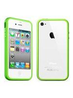 Príslušenstvo k Mobilným telefónom Ochranný kryt Bumper pre iPhone 4 (zelený)