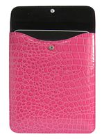 Puzdro pre iPad (ružová krokodília koža) (MOBIL)